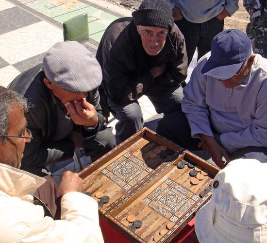 The backgammon boys